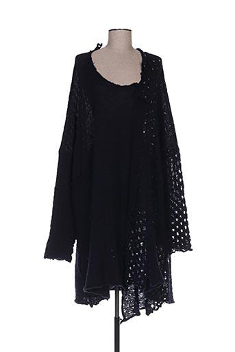 Robe mi-longue bleu BLACK LABEL pour femme