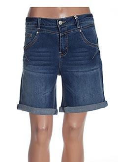 Produit-Shorts / Bermudas-Femme-CREAM