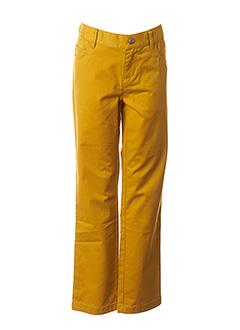 Pantalon casual jaune 3 POMMES pour fille