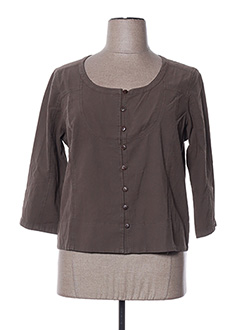 Veste casual marron ESPRIT DE LA MER pour femme