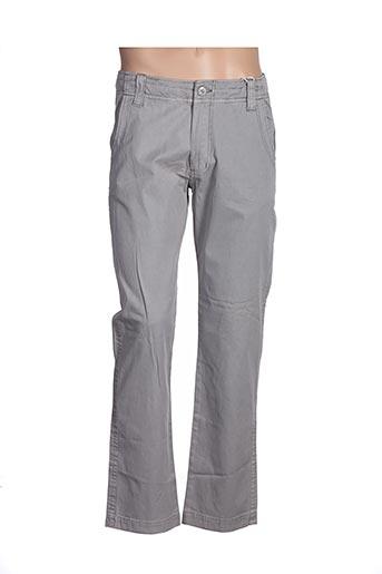 Pantalon casual gris ESPRIT DE LA MER pour femme