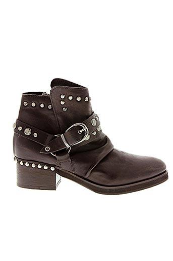 Bottines/Boots marron CURIOSITÈ pour femme