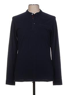 T-shirt manches longues bleu JACK & JONES pour homme