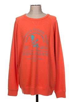 Sweat-shirt orange PEPE JEANS pour homme