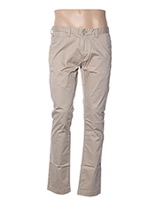 Pantalon casual beige TEDDY SMITH pour homme seconde vue