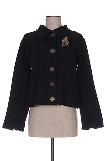 Veste casual noir ANABELLE pour femme