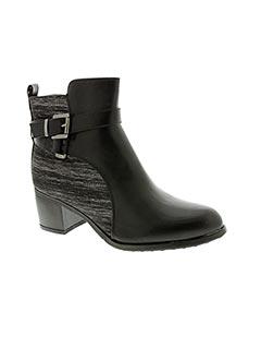 Bottines/Boots noir CHC-SHOES pour femme