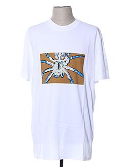 T-shirt manches courtes blanc LANVIN pour homme