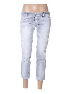 Pantalon casual gris DSQUARED pour femme