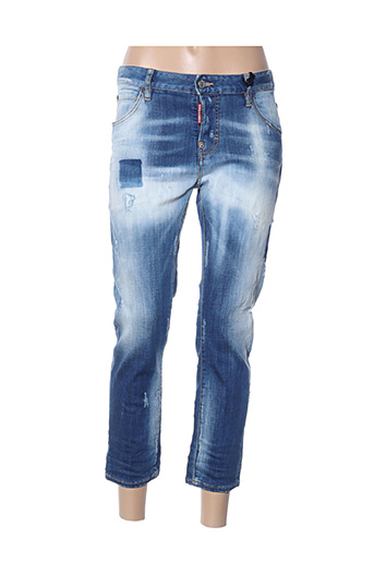 Jeans coupe slim bleu DSQUARED pour femme