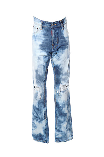 Jeans coupe slim bleu DSQUARED pour homme