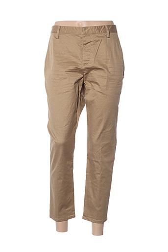 Pantalon casual marron DSQUARED pour femme