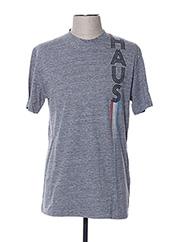 T-shirt manches courtes gris GOLDEN GOOSE DELUXE BRAND pour homme seconde vue