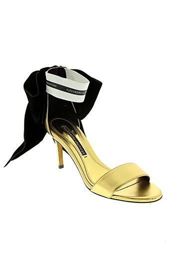 Escarpins jaune ALEXANDRE VAUTHIER pour femme