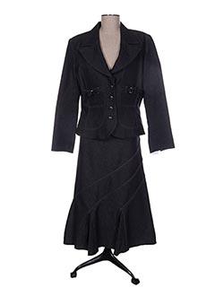 Veste/jupe gris CHRISTINE LAURE pour femme
