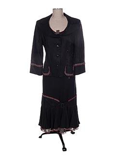 Veste/jupe noir CHRISTINE LAURE pour femme