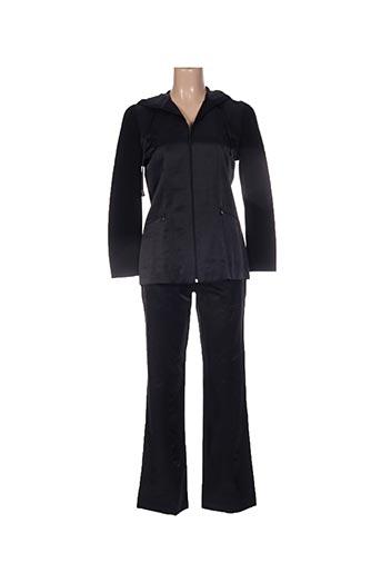 Veste/pantalon noir FELINO pour femme