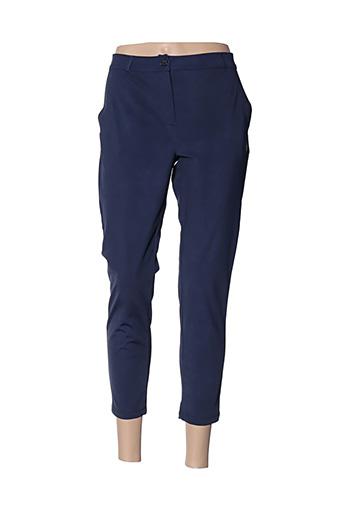 Pantalon chic bleu HBT pour femme