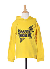 Sweat-shirt jaune ONLY pour fille seconde vue
