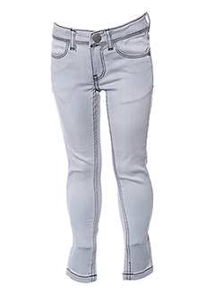Pantalon casual gris SORRY 4 THE MESS pour fille