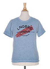T-shirt manches courtes bleu TOM TAILOR pour garçon seconde vue