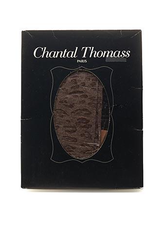 Collants marron CHANTAL THOMASS pour femme