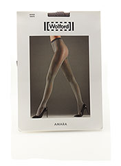 Collants gris WOLFORD pour femme seconde vue