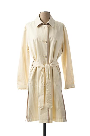 Imperméable/Trench beige BULTÉ pour femme