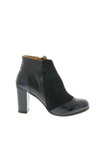 Bottines/Boots bleu ID CONTRAIRE pour femme