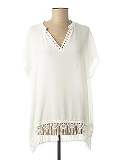 Top sans manche blanc GABRIELLE BY MOLLY BRACKEN pour femme
