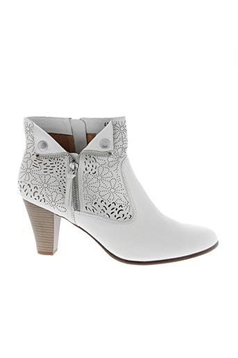 Bottines/Boots blanc KARSTON pour femme