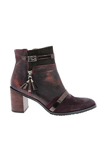 Bottines/Boots violet HORS LIMITE pour femme
