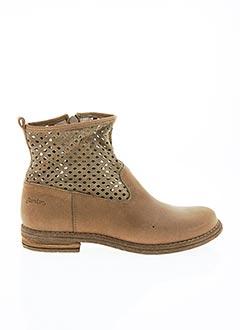 Bottines/Boots beige RAMDAM pour fille