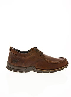 Derbies marron CAT pour homme