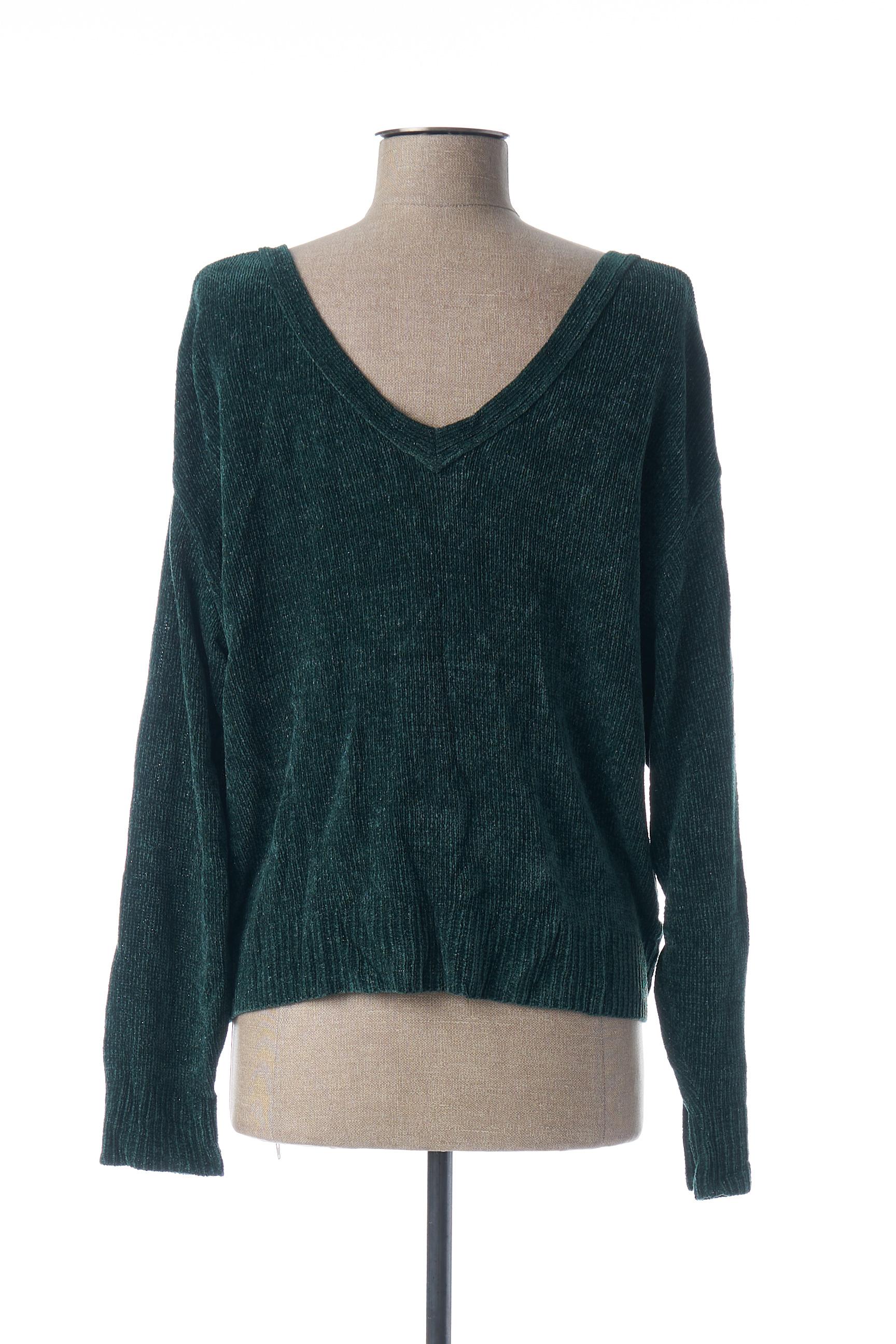 Le Petit Baigneur Cardigans Femme De Couleur Vert En Soldes Pas Cher 1449005-vert00