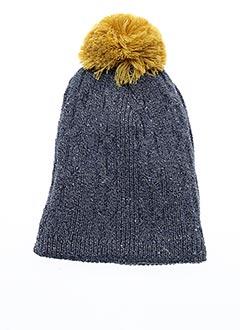 Bonnet bleu BERTHE AUX GRANDS PIEDS pour unisexe