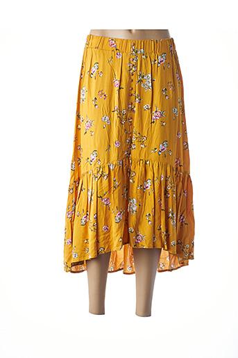 Jupe longue orange TIFFOSI pour femme