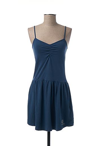 Robe mi-longue bleu FREEMAN T.PORTER pour femme