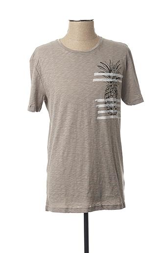 T-shirt manches courtes gris ANTONY MORATO pour homme