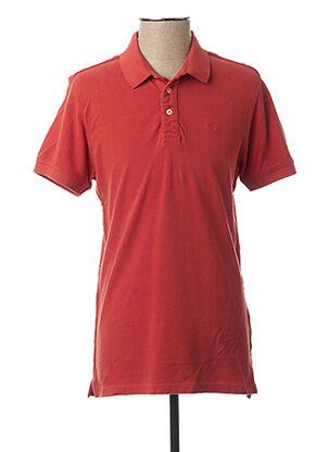 T-shirt manches courtes rouge DSTREZZED pour homme