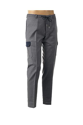 Pantalon casual gris CARNET DE VOL pour homme