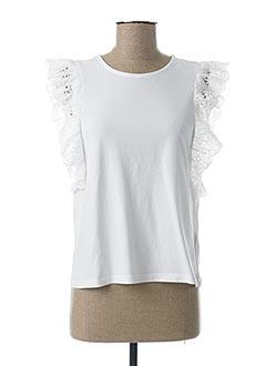T-shirt manches courtes blanc RALPH LAUREN pour fille