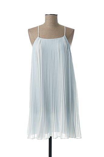 Robe mi-longue bleu RALPH LAUREN pour fille