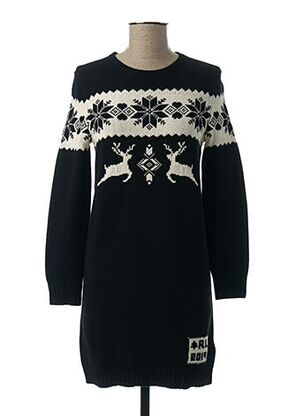 Robe pull noir RALPH LAUREN pour fille