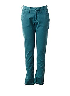 Pantalon casual bleu REIKO pour femme
