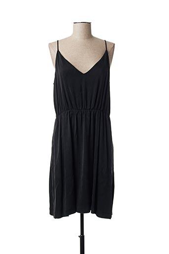 Robe mi-longue noir AMERICAN VINTAGE pour femme