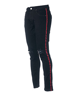 Pantalon casual noir AARHON pour homme