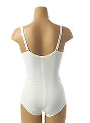 Body lingerie blanc FELINA pour femme seconde vue