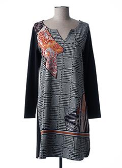 Robe courte noir MALOKA pour femme