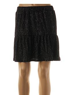Jupe courte noir KILIBBI pour femme